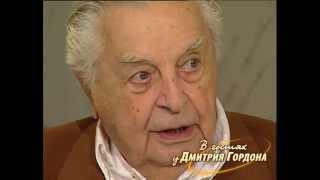 """Юрий Любимов. """"В гостях у Дмитрия Гордона"""". 1/2 (2007)"""