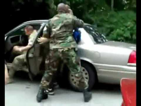 Military abduction at pittsburgh G20 summit..wmv