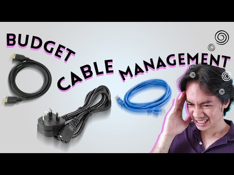 Cable Management on a Budget!   Hardware Sugar