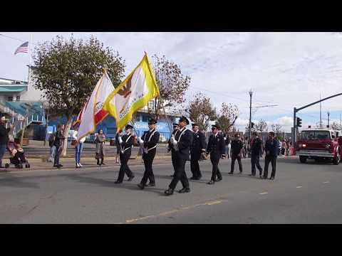 Veterans Day Parade 2017 San Francisco California