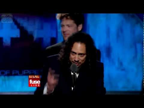 Kirk Hammett's Acceptance Speech (Rock & Roll Hall of Fame induction 2009) [HD]