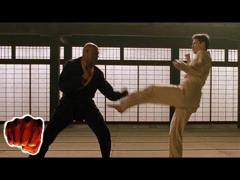 Neo Vs Morpheus Türkçe Dublaj Dövüş Sahnesi 1080p
