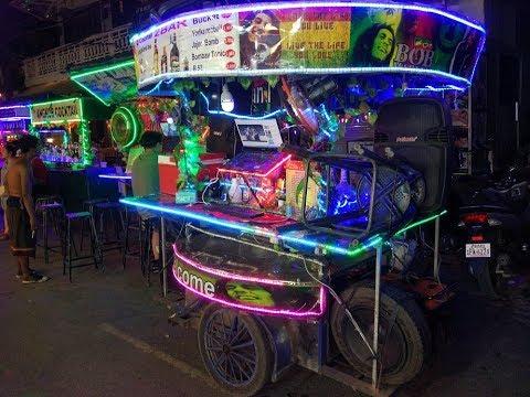 Siem Reap by night (Pub street) – Kambodża 2017 #5