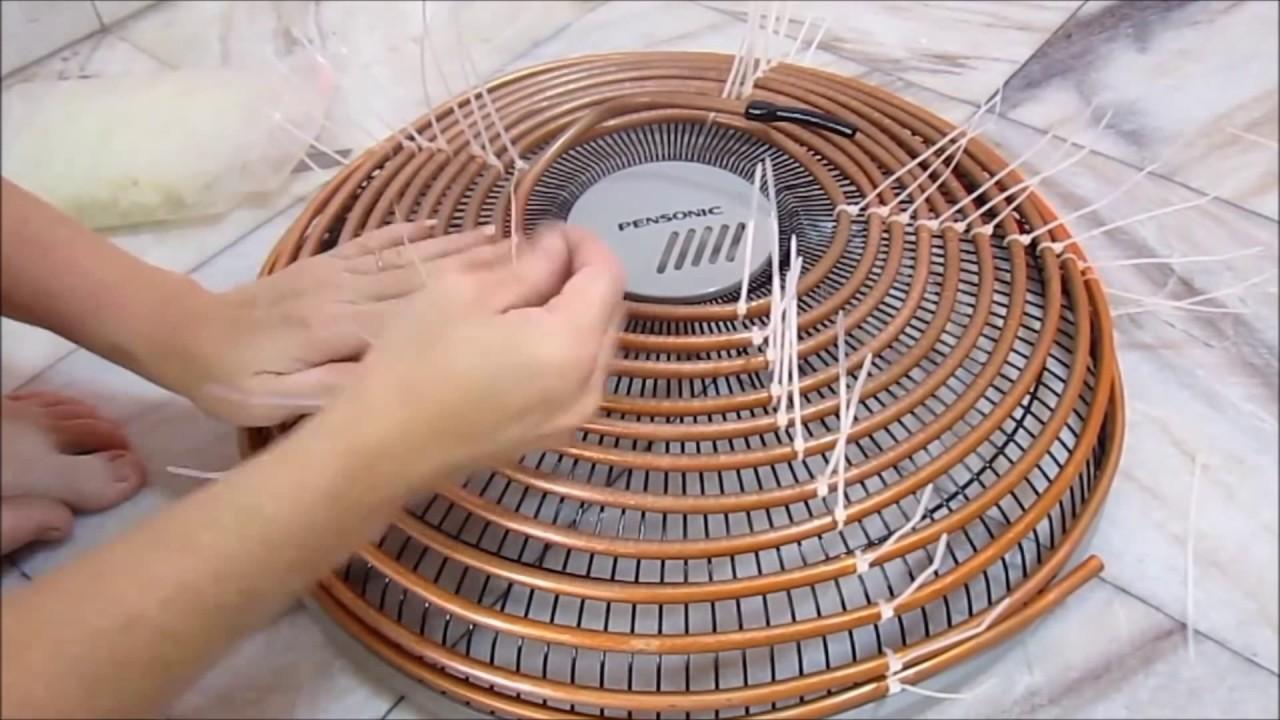 es klingt verr ckt aber das ist eine geniale klimaanlage zum selbermachen youtube. Black Bedroom Furniture Sets. Home Design Ideas