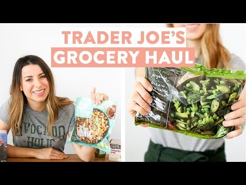 Trader Joe's Grocery Haul | EASY Freezer Meal Ideas