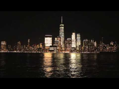 Exchange Place Waterfront Jersey City ( Night Time lapse )