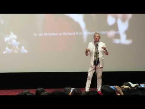 【Strawberry Alice】Sir Ian McKellen,  the 19th Shanghai International Film Festival, 13/06/2016.