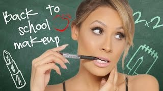 Back to School Makeup & Hair Tutorial
