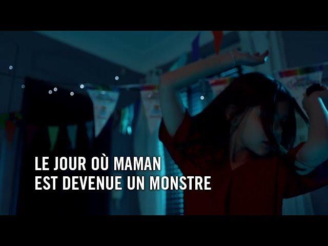 LE JOUR OU MAMAN EST DEVENUE UN MONSTRE de Joséphine HOPKINS - FICTION 2017 - ESRA 3è année - Paris