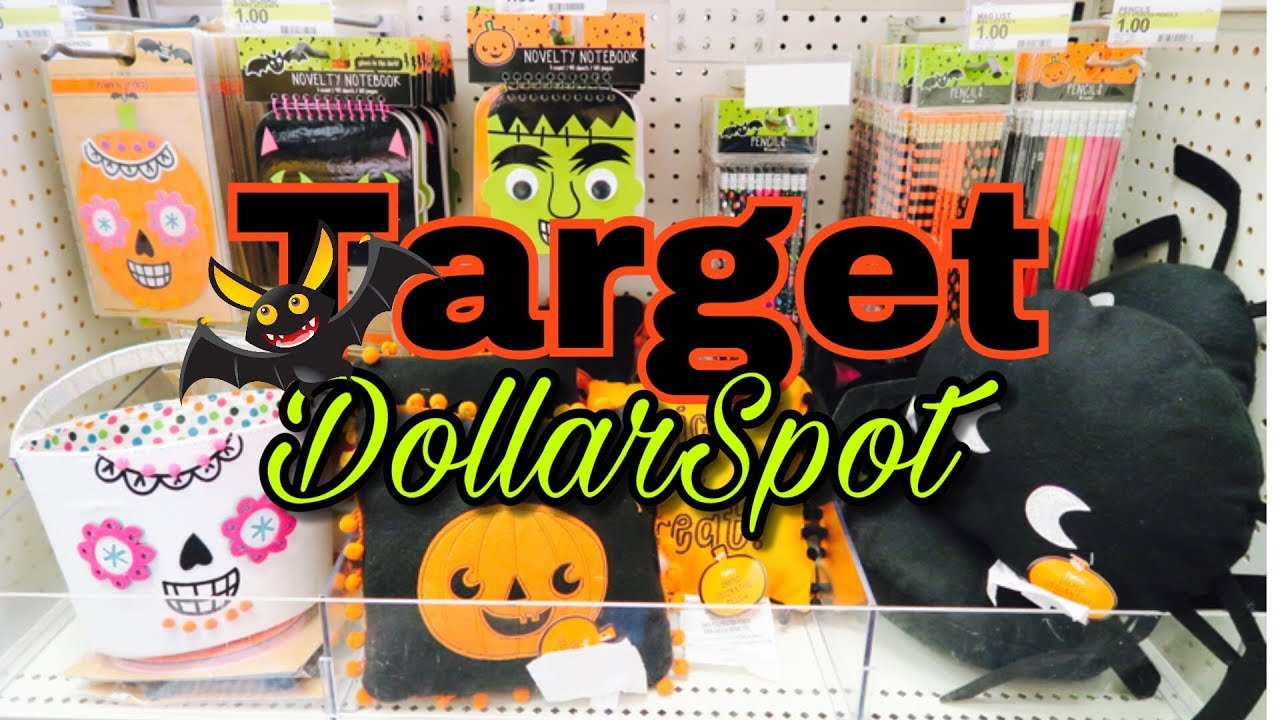 target dollar spot halloween 2017 shop with me fall haul - Halloween Target