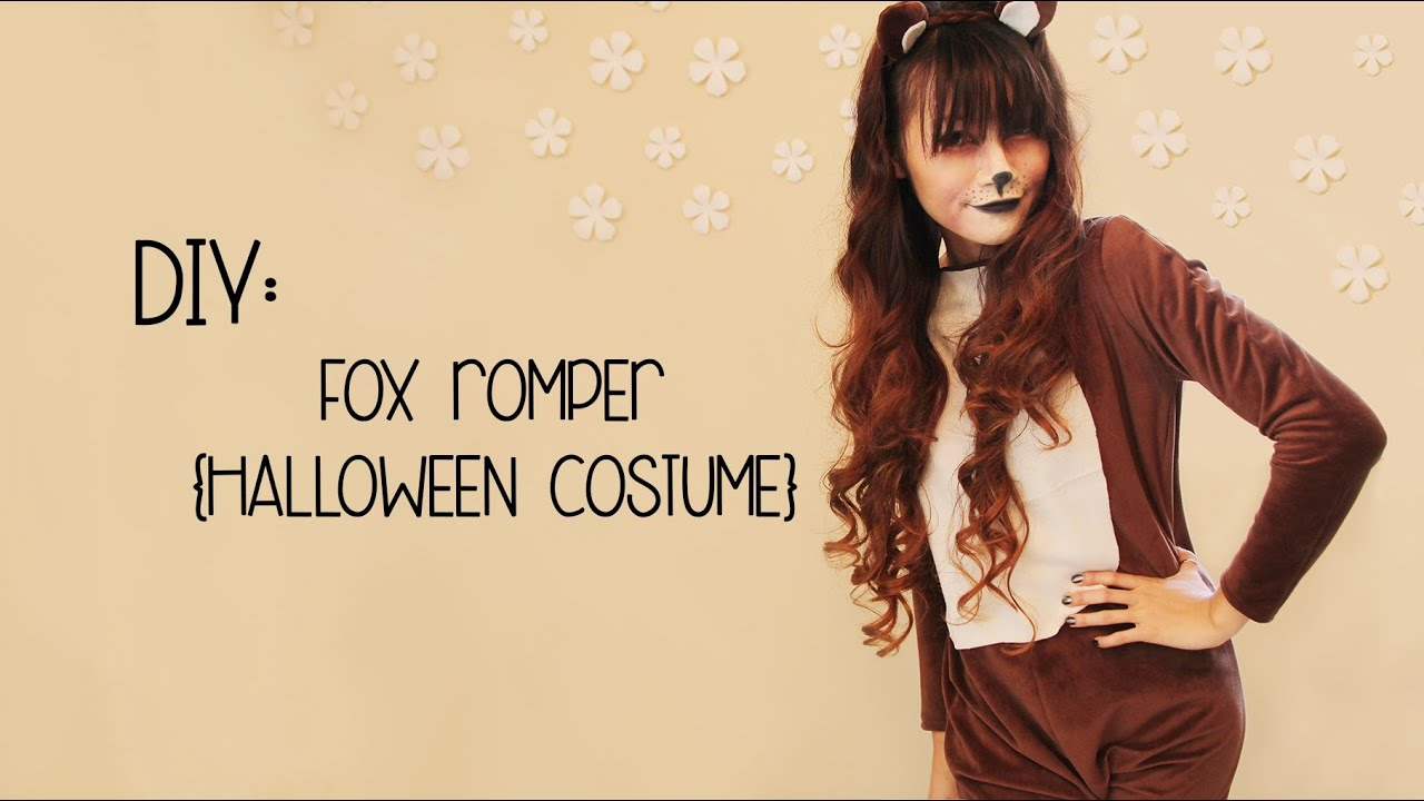 Diy the fox halloween costume youtube solutioingenieria Gallery