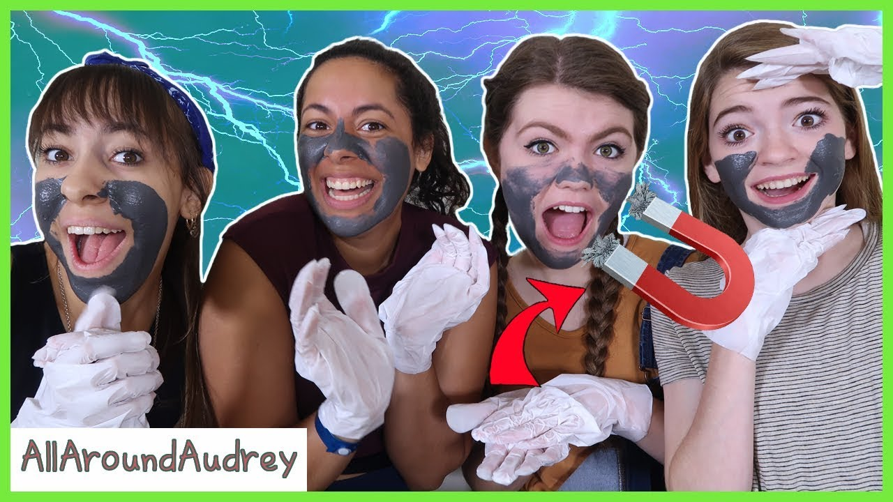 Trying Magnetic Face Masks Ft. The Skory's / AllAroundAudrey