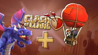 Best attack strategy for town hall 7 dragon and balloon