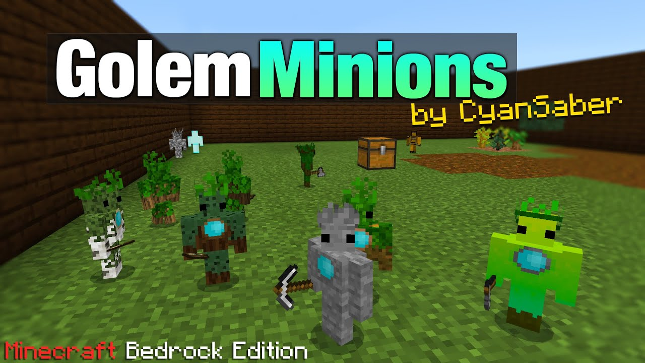 """These Golem Minions do All the Work so You can Relax 