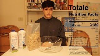 La tazza da 2.5kg di cornflakes