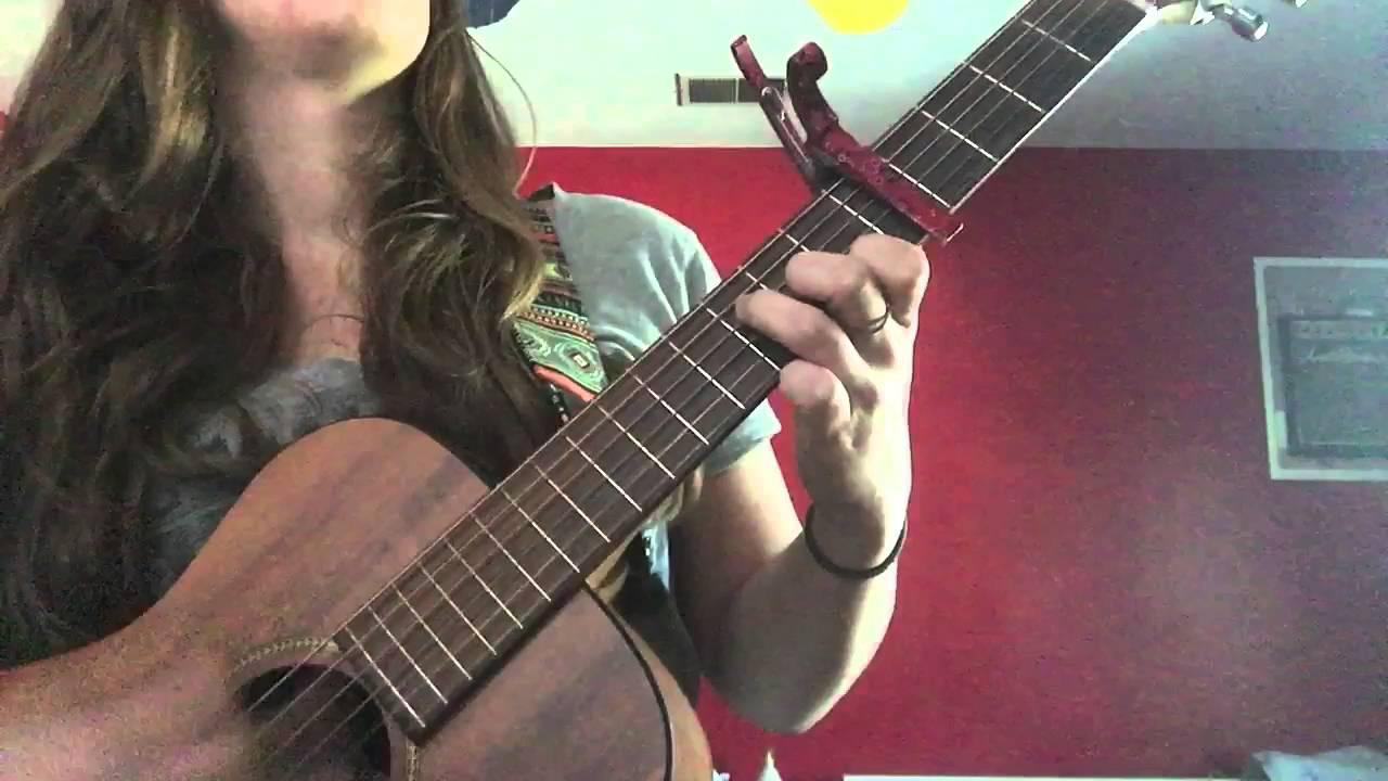 Sara Bareilles Guitar She Used To Be Mine Youtube