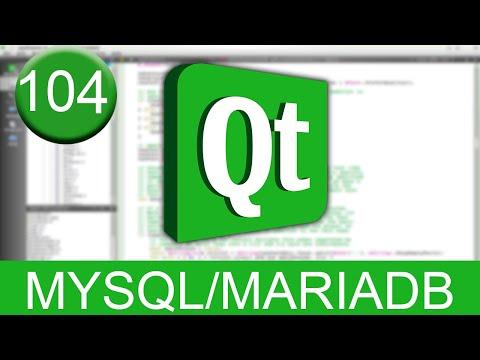 Tutorial Qt Creator - MySQL/MariaDB (SQL en C++)