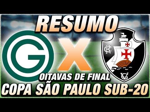 Goiás x Vasco Ao Vivo l Copa SP de Futebol Júnior l Oitavas de Final l Narração