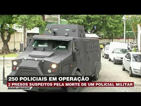 Três traficantes são presos em operação no Rio