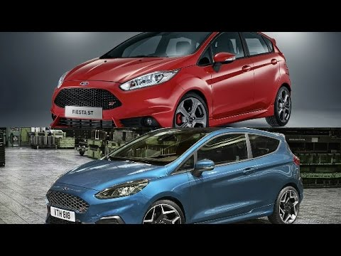 7th gen 2017 ford fiesta st vs new 2018 ford fiesta st youtube. Black Bedroom Furniture Sets. Home Design Ideas