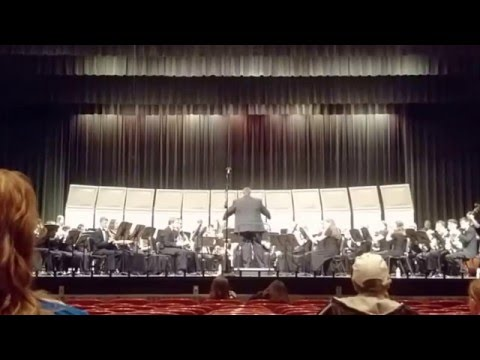 Perry Meridian High School Wind Ensemble, State Qualifications 4/30/2016