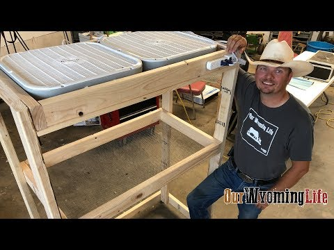 Building a Drying Rack for Vegetables  - The Project List - Our Wyoming Life