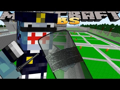 Minecraft Jobs - PRISON GUARD FOR A DAY!!