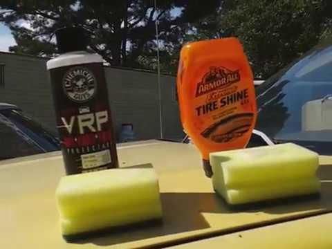 Armorall extreme tire shine gel vs chemical guys vrp tire dressing