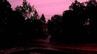 An Ohio Evening Thunderstorm