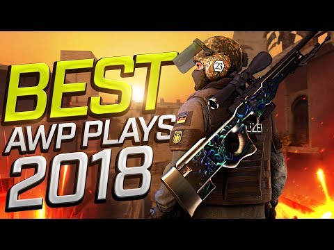 CS:GO - BEST PRO AWP Plays 2018 (Fragmovie)