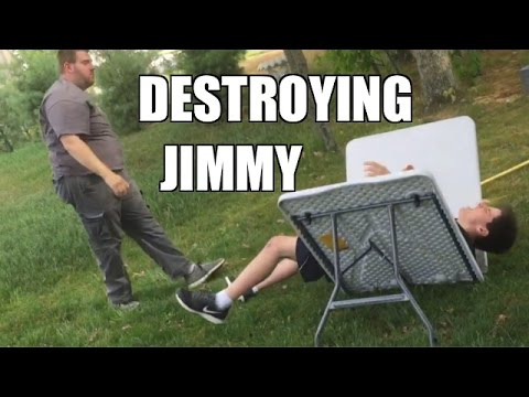 RAZORS EDGE THROUGH A TABLE! DESTROYING WWE Figure collection!