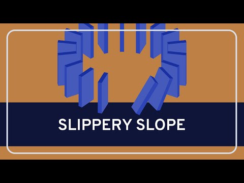Slippery Slope  Critical Thinking Fallacies  WIRELESS PHILOSOPHY