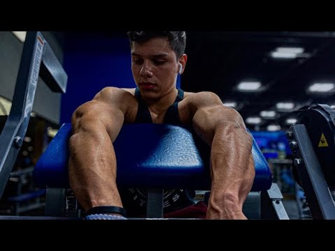 HYPERTROPHY BICEP/TRICEP WORKOUT ? | 4 WEEKS OUT - YouTube