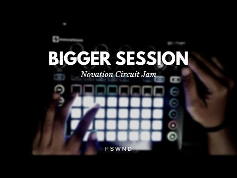 Novation Circuit Jam - Bigger Session (TRAP!)