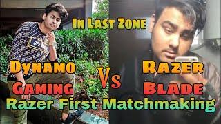 #PUBG #DynamoGaming Dynamo + Sqaud Vs Razer Blade + Squad   Stream Sniping ??   Shaktimaan Gaming