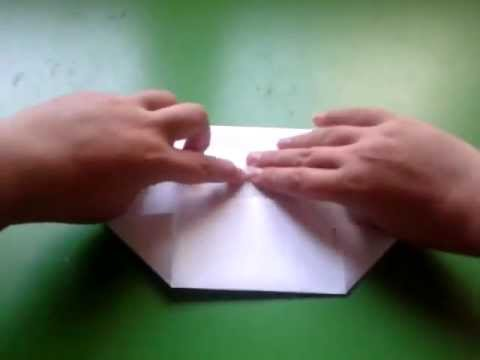 How to fold a box with a A4 paper - YouTube