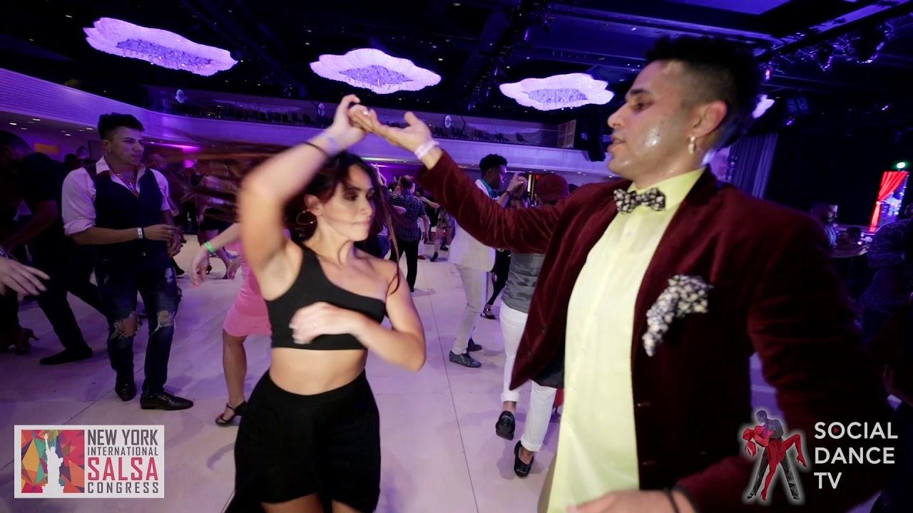 Manny Davis & Michelle Morales - Salsa social dancing | Goya New York Int. Salsa Congress 2019