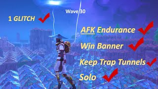 AFK ENDURANCE GLITCH Fortnite Sauve le monde