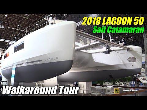 2018 Lagoon 50 Catamaran - Walkaround - 2018 Boot Dusseldorf Boat Show