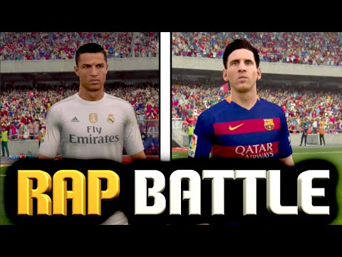 MESSI VS RONALDO | FIFA 16 RAP BATTLE (ft. Decentfinish15)