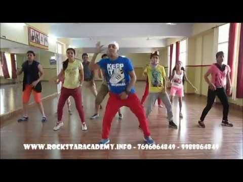 blue eyes honey singh dance steps by Rockstar academy chandigarh India