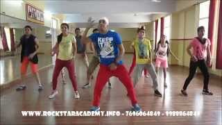blue eyes honey singh dance steps by Rockstar academy chandigarh India