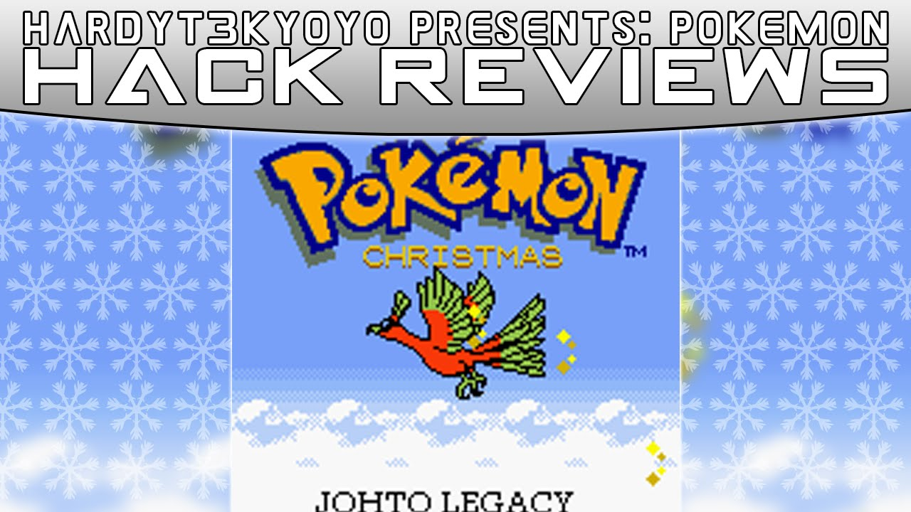 Pokemon Christmas Version Review! - Pokemon Rom Hack Review - YouTube