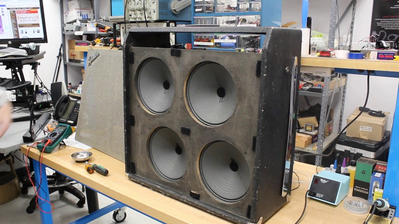 Super Reverb Series: Installing New Speakers - YouTube | Speaker Wiring Diagrams Super Reverb |  | YouTube