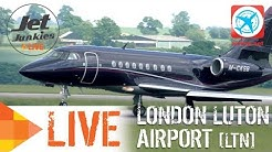 London Luton Airport LIVE | Jet Junkies Live