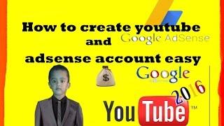 كيفية إنشاء يوتيوب و adsense سهلة (التاميل) الجزء 2