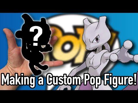 Making a Custom MEWTWO Pop Figure! - DIY Pop #3