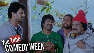 Darling Movie Srinivas Reddy u0026 Dharvmavarapu Comedy Scene   Prabhas, Kajal   Sri Balaji Video