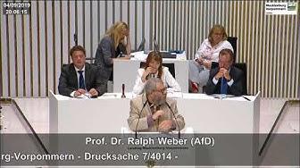 Prof. Dr. Ralph Weber: Das war menschenverachtend!