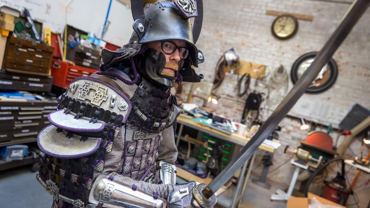 Adam Savage S Samurai Armor Costume Youtube